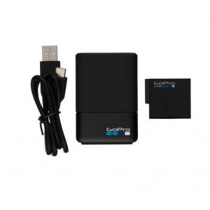 Зарядка для двух аккумуляторов GoPro Hero 5