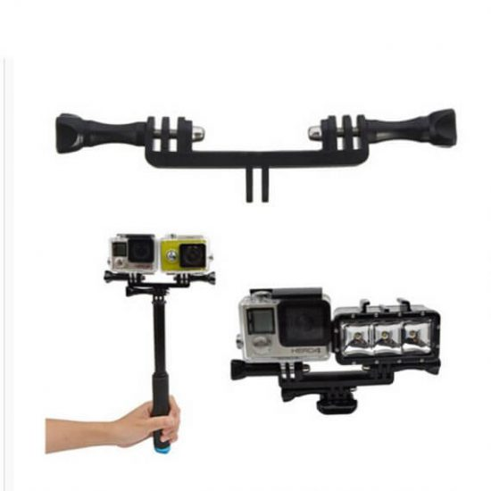 Крепление для двух экшн камер