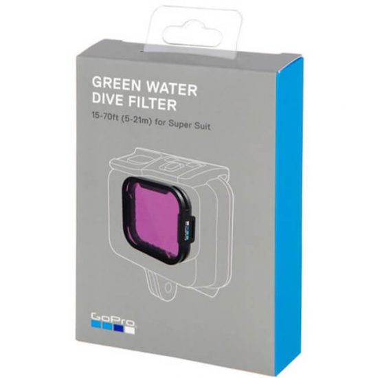 Green Water Dive Filter
