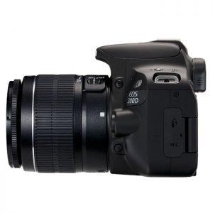Canon EOS 200D 18-55 DC III Black