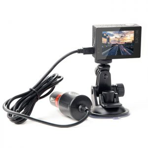 Car Charger with Suction Cup for SJ8 series