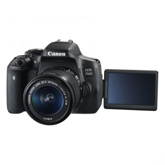 Canon EOS 750D kit (18-55 mm)