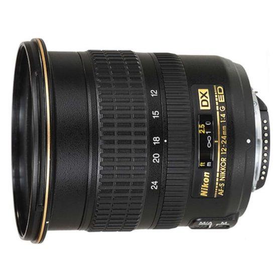 Nikon AF-S DX Zoom-Nikkor 12-24mm f/4G IF-ED (2.0x)