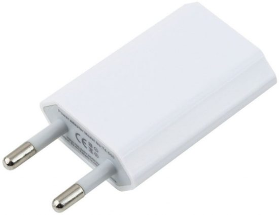 Apple USB Power Adapter 1A White