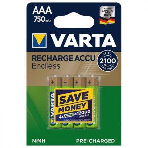 VARTA AAA 750 mAh BLI 4
