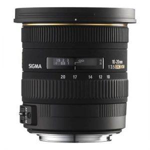 Sigma 10-20mm/3.5 Canon