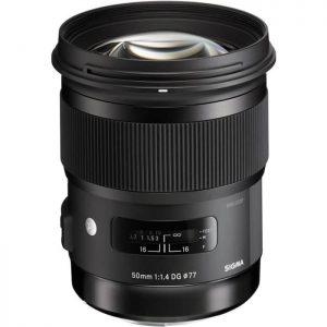 Sigma 50mm/1,4 Canon