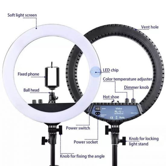 Visico RL-12II AC Ring Light