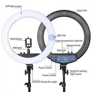 Visico RL-18II AC Ring Light