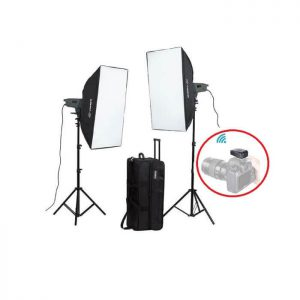 Visico VE-400 Plus Softbox KIT