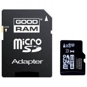 GOODRAM MicroSDHC 32GB Class 10 UHS-1