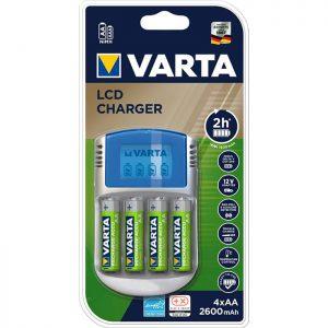 Varta LCD charger+4xAA 2500