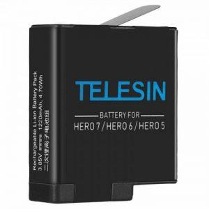 Аккумулятор для GoPro Hero 7 / 6 / 5 Telesin