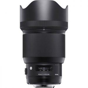 Sigma 85mm/1,4 Canon