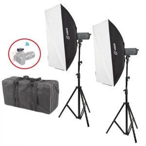 Visico LED-150T Softbox Kit